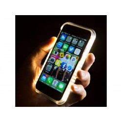 Capa Luminosa com Leds para Iphone 6