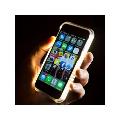 Capa Luminosa com Leds para Iphone 6