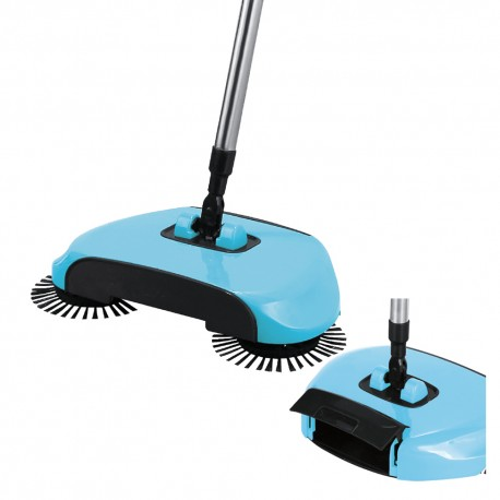 Mop Broom Spin 360 Limpeza Pratica Vassoura Magica Uitech