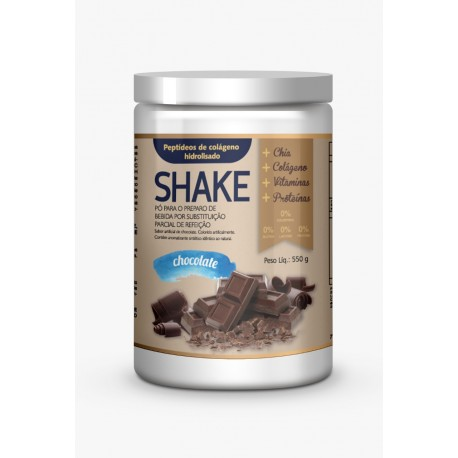 Shake 4YourFamily Auxilia Emagrecer Complemento e Suplemento Alimentar Chocolate 550g