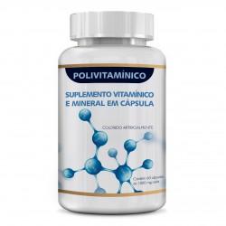 Suplemento Alimentar 4YourFamily - Polivitaminico e Polimineral 60 capsulas