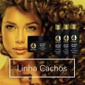 Kit 4YourFamily Shampoo Mascara Creme Ativador Essential Cachos